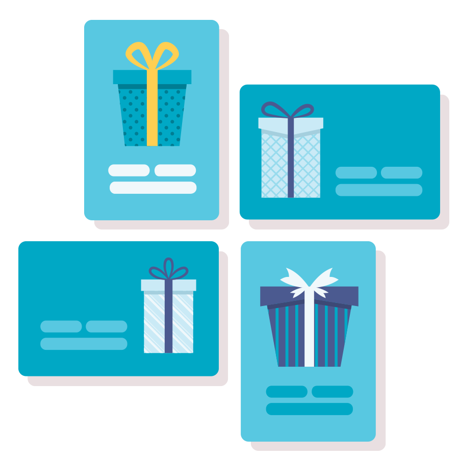 increase sales gift cards
